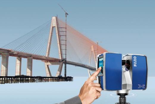 Dreidimensional Messen bis zu 330 m Entfernung mit dem FARO Focus 3D X 330