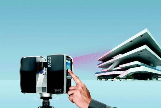 Mit einem Scanradius von 130 m eignet der FARO Focus3D X 130 für viele Branchen