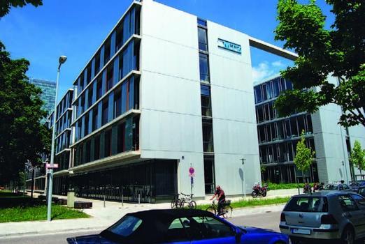 Das Münchner Technologiezentrum MTZ zeichnet sich durch Hightech und Nachhaltigkeit aus
