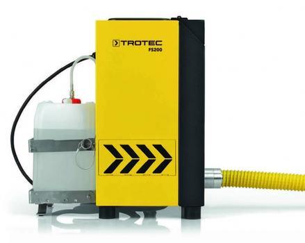 Der in Deutschland gefertigte Nebel- und Rauchgassimulator FS200 ist bereit für den Einsatz