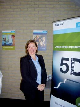 Ann Lambrechts, Leiterin Forschung und Entwicklung für Bauprodukte bei Bekaert, erhielt den European Inventor Award 2011  : Ann Lambrechts, Leiterin Forschung und Entwicklung für Bauprodukte bei Bekaert, erhielt den European Inventor Award 2011