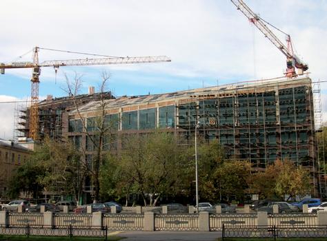 Baustelle im Herbst 2011