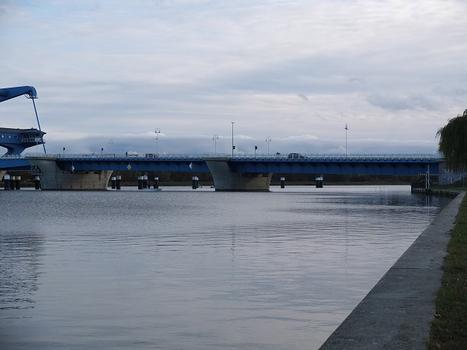 Pont sur la Peene à Wolgast