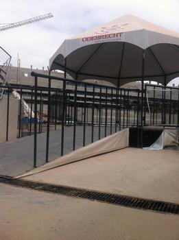 Arena Corinthians, Brasilianische Stadien mit deutscher Entwässerung