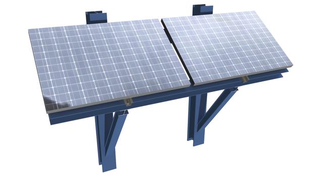 Lindapter-Trägerklemmverbindungen sichern die neue Solarthermie-Fassade des Hamburger 'Energiebunkers'