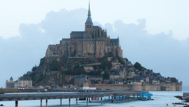 Seesteg Mont-Saint-Michel