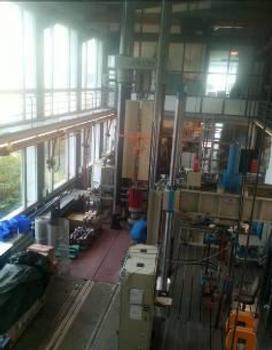 Kohlelagerhallen am Kohlekraftwerk Federico II, Größte Holzkuppel Europas