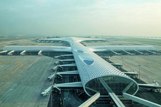 Aérogare 3 de l'aéroport international de Shenzhen Bao'an