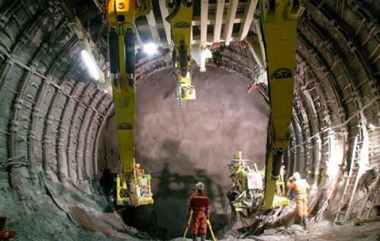 Ortsbrustsicherung mit Dramix® Stahlfaserspritzbeton
