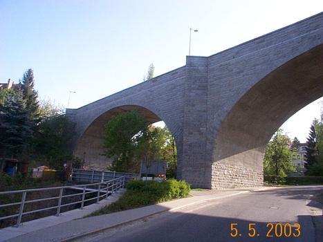 Brücke über das Seltenreintal, Löbau.