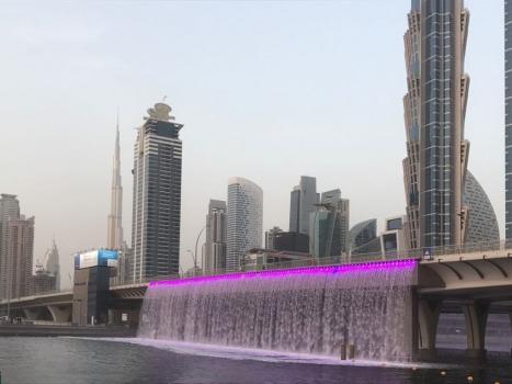 Pont sur le Canal de Dubai