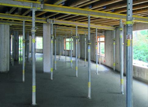 Auf 19.900 m² sind Schalungslösungen im Einsatz