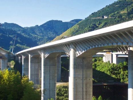 Kamiisabu Viaduct No. 1 (Westbound)
