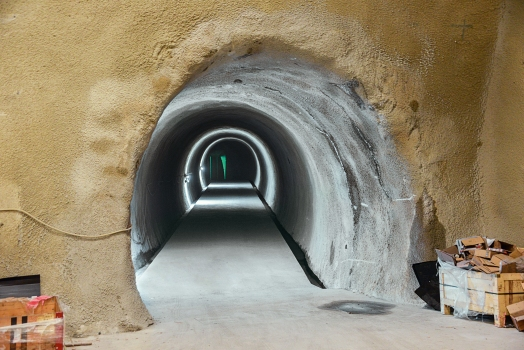 A new escape route of the Arlberg Tunnel