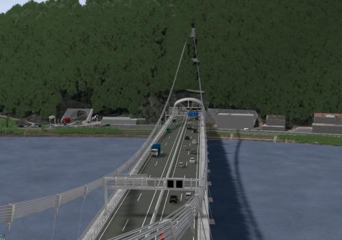 A26 Danube River Bridge
