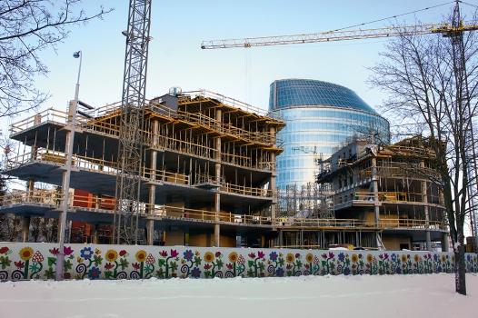 Die Green Hall 2 wird 10.000 m² Bürofläche bieten