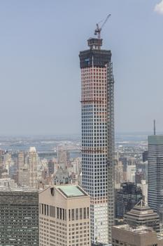 At 426 m, 432 Park Avenue Tower in New York will be the tallest residential building in the western hemisphere.  : At 426 m, 432 Park Avenue Tower in New York will be the tallest residential building in the western hemisphere.