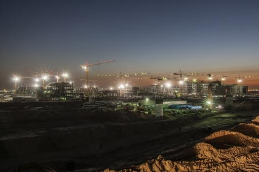 The new University City in Kuwait is built on a 6 million m² property