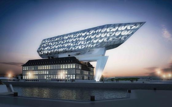 With its light reflections, the new head office of the port authority, the New Port House designed by Zaha Hadid Architects, pays homage to Antwerp as the centre of the diamond trade.