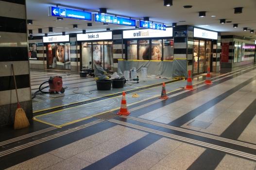 Über-Nacht-Einbau am Hauptbahnhof Zürich innerhalb von sieben Stunden