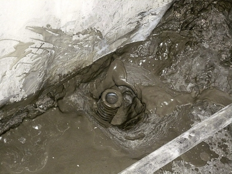 One installed micropile