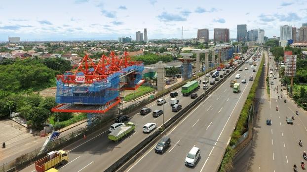Der zweite Bauabschnitt des MRT Jakarta ist 8,1 km lang und führt bis nach Kampung Bandan in Nord-Jakarta.
