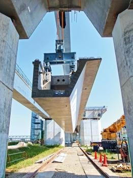 A U-beam segment for the Nakano Viaduct