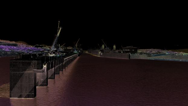 Rund zehn Monate vor der geplanten Eröffnung wurden bereits erste Testabschnitte des erweiterten Panamakanals geflutet. Auch für PERI ist das Megaprojekt damit bald abgeschlossen.