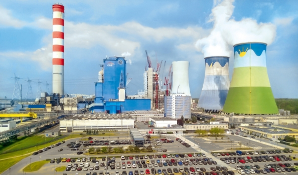 Once completed, Opole will be Poland's largest coal-fired power station.