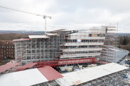 Bâtiment central de l'Université Leuphana