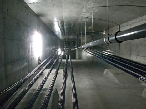 External cables of Sanagawa Bridge