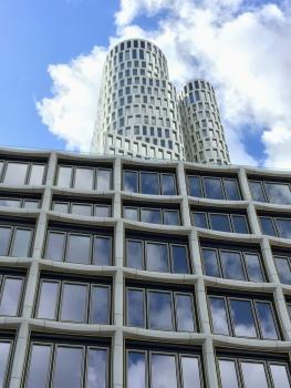 Ein Hotel, Büros und Einzelhandelsgeschäfte werden im Upper West Platz finden.