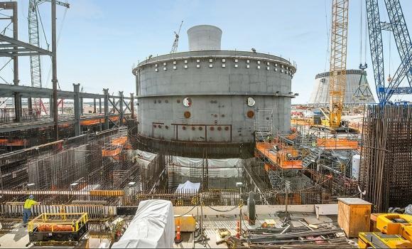 Unit 3 nuclear island
