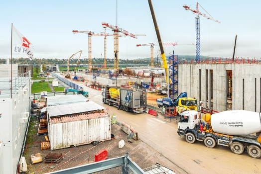 The Achères treatment plant in northwestern Paris is being modernized and enlarged.