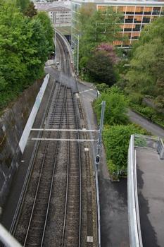Ligne M1 du Métro de Lausanne, Viaduc du métro M1