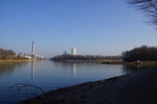 Canal du Rhin à Herne