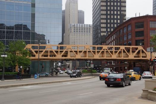 Lake Street / Wacker Drive L Bridge