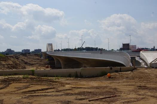 Verlängerungsbrücke der Waalbrug