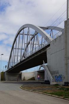 Eisenbahnbrücke über den Altberkanal