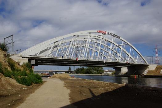 Eisenbahnbrücken über den Albertkanal