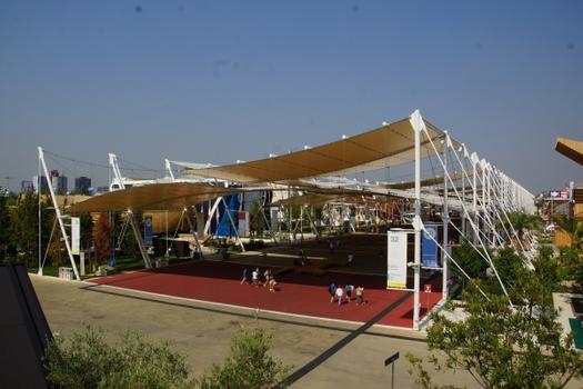 Couverture des Cardo & Decumano (Expo 2015)