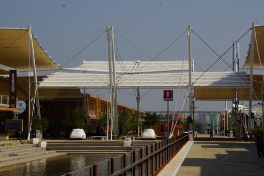 Cardo & Decumano Roof (Expo 2015)