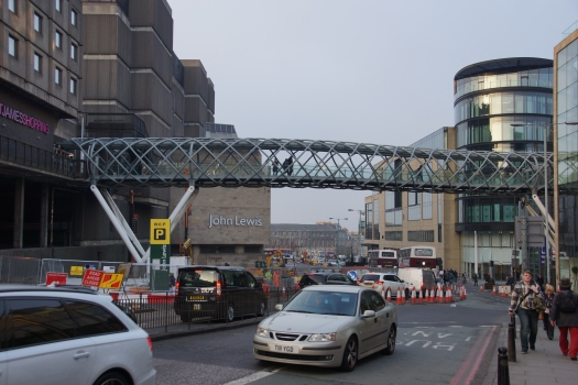 Greenside Place Link Bridge