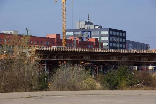 Eisenbahnüberführung Berlin Hamburger und Lehrter Bahnhof