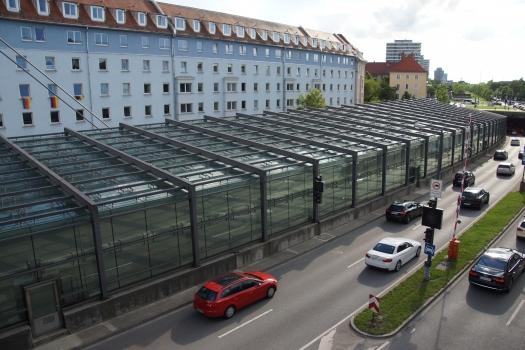 Einhausung Schenkendorfstraße