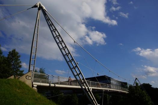 Pont suspendu sur le Mittlerer Ring