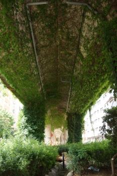 Hochbahnbrücke Girona