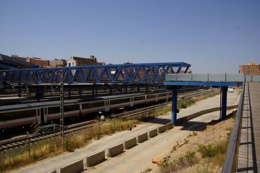 Lleida Pirineus Station Footbridge