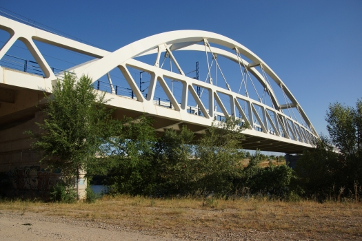 Zaragoza Ebro River Rail Bridge