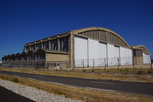 Flugzeughalle in Marignane